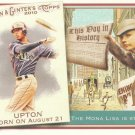 2010 Topps Allen and Ginter This Day in History #TDH44 B.J. Upton
