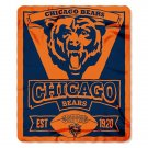 "Chicago Bears 50"" x 60"" Marque Fleece Blanket"