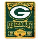 """Green Bay Packers 50"""" x 60"""" Marquee Fleece Blanket"""