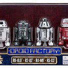 Star Wars The Force Awakens Droid Factory Figures 4-Pack (R0-4L0, R2-Q2, R4-M9, R5-X3)
