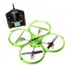 UDI 818A HD+ RC Quadcopter Drone HD Camera, Return Home Function,Headless Mode Green