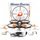 Wonder Chopper RC Stunt Drone Quadcopter w/ 360 Flip