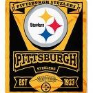 "Pittsburgh Steelers 50"" x 60"" Marquee Fleece Blanket"