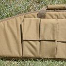 Wild Wood 41 inch Tactical Rifle Case with Side Magazine Pouches- Coyote Tan