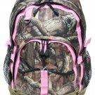 MOSSY OAK Breakup Infinity Backpack- Pink Trim