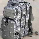 Wild Wood Digital Camo Tactical Military Style Backpack w/ Molle