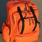 Wild Wood Extra Large Hunting or EMT Backpack- Safety Orange