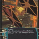 Star Wars Rogues and Scoundrels TCG Common Foil- Tie Fighter #81