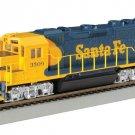 Bachmann Industries EMD GP40 Locomotive Santa Fe #3509 HO Scale Train Car