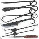 Medieval Style Kitchen Cutlery Forged Steel Set