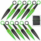 Biohazard Blood Stained Soul Kunai 12 Piece Throwing Knife Set with Nylon Case