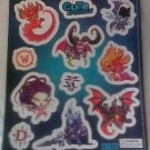 Cute But Deadly Exclusive Refrigerator Magnet Set