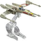 Hot Wheels Star Wars The Force Awakens Starship X-Wing Fighter Red 5