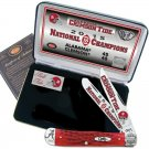 Case XX Alabama Crimson Tide 2015 National Champions Commemorative Knife