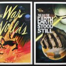 """Exclusive """"Invasion"""" Mini Art Prints """"The Day the Earth Stood Still"""" and """"The War of the Worlds"""""""