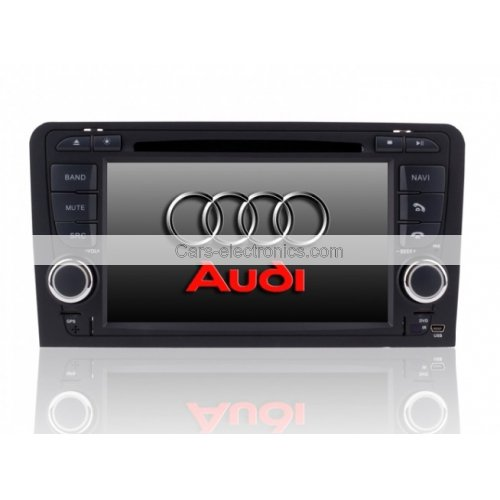 AUDI A3 DVD Player with GPS Navigation TV Tuner Bluetooth PIP Steering Wheel Control