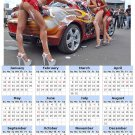 2014 calendar toolbox magnet refrigerator magnet Sexy Girls #1