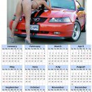 2014 calendar toolbox magnet refrigerator magnet Sexy Girls #3