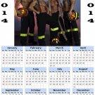 2014 calendar toolbox magnet refrigerator magnet Sexy Guys #6