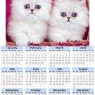 2014 calendar toolbox magnet refrigerator magnet Cats #2