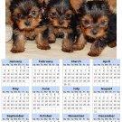 2014 calendar toolbox magnet refrigerator magnet Dogs #7