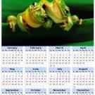 2014 calendar toolbox magnet refrigerator magnet Frogs #3