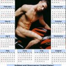 2014 calendar toolbox magnet refrigerator magnet Sexy Guys #9