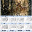 2014 calendar toolbox magnet refrigerator magnet Deer #6
