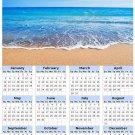 2014 calendar toolbox magnet refrigerator magnet beaches #9