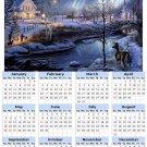 2014 calendar toolbox magnet refrigerator magnet weather #4