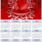 2014 calendar toolbox magnet refrigerator magnet Love #4