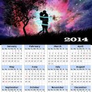 2014 calendar toolbox magnet refrigerator magnet Love #8