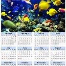 2014 calendar toolbox magnet refrigerator magnet Ocean Life #3