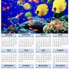 2014 calendar toolbox magnet refrigerator magnet Ocean Life #4