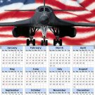 2014 calendar toolbox magnet refrigerator magnet Patriotic #1