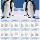 2014 calendar toolbox magnet refrigerator magnet Penguins #4
