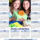 New toolbox magnet refrigerator magnet 2014 calendar Personalized
