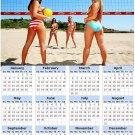 2014 calendar toolbox magnet refrigerator magnet Sexy Girls #15