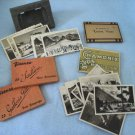 Europe Souvenir Travel Snapshots 1930s, 5 Sets, 66 photos