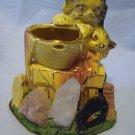 McCoy Kittens with Gold Trim in Quartz Souvenir Base