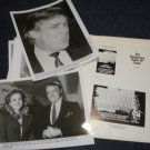 TV show promo folder Donald Trump, Dangerous Game of Fame, 1992