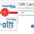 Magazine.com $60 Gift card