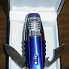 Colibri TORCH LIGHTER Knife NEW BLUE ICE