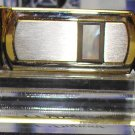 COLIBRI SIVERTONE MONEY CLIP MOTHER OF PEARL WITH ONYX