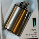 Colibri Quantum SATIN  Flask Cigar Lighter NIB