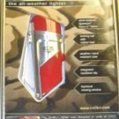 COLIBRI SMITTY SURVIVAL TORCH ALL WEATHER LIGHTER RED