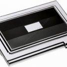 Colibri  Ccc026300 Card Case GREY ENAMEL