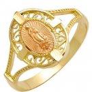 Colibri Krementz 14KT SOLID  gold  FATIMA RING  $120