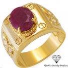 Exquisite  New Ring Genuine RUBIE 14K/9.25