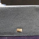 S.T. Dupont BLUE LEATHER CHECKBOOK